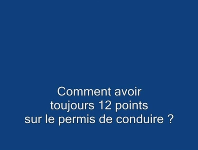 12 points du permis de conduire on vimeo. Black Bedroom Furniture Sets. Home Design Ideas
