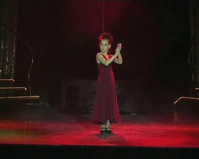 Отчетный концерт в Гигант-холле. Недетское фламенко.