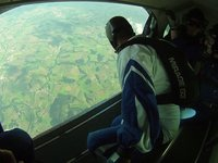 My first skydive from 3500m