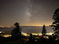 Lake Tahoe Milky Way Night Time Lapse