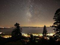 Lake Tahoe Milky Way Night Time Lapse