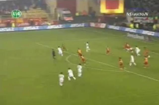Galatasaray - Sabrinin Aşırtma Golü