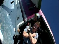 Dave Gambrill's 1st Skydive - 14,000 ft over New Jersey