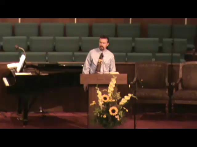 Still image of 9-5-2010 sermon