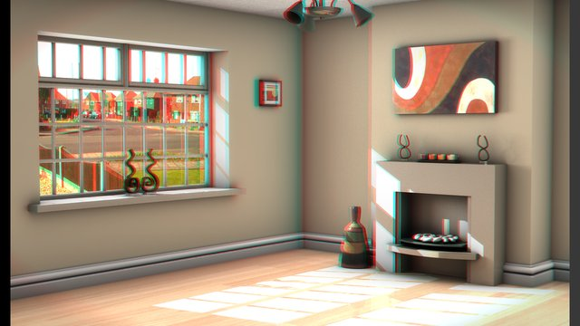how to make anaglyph 3d video