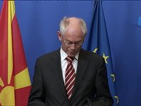 Press Statements: Van Rompuy  President of the former Yugoslav Republic of Macedonia