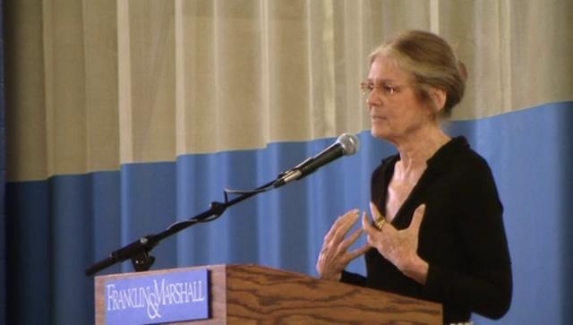 Common Hour: Gloria Steinem