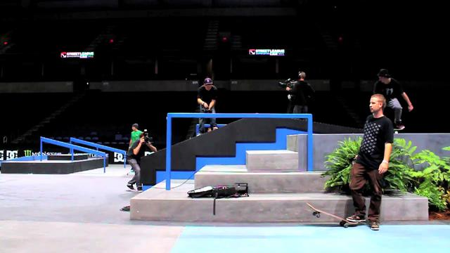 Monster Energy Presents Chris Cole and Greg Lutzka at Rob Dyrdek's Street League in Ontario, CA