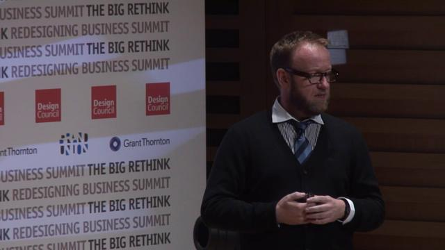 Paul Bennett at the Economist Conference, part 1