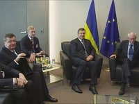 Van Rompuy meets President of Ukraine