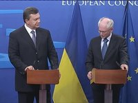 Van Rompuy &#8211; Yanukovych: Press Statements