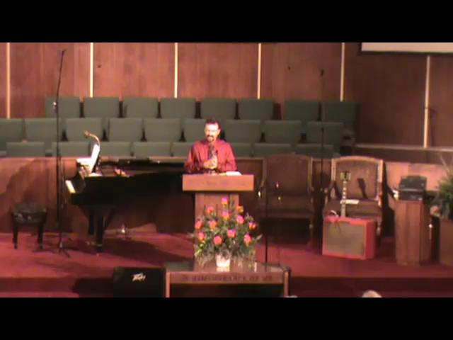 Still image of 9-12-2010 sermon