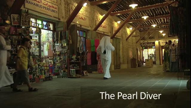 Pearl Diver - Reminiscing the past of Qatar
