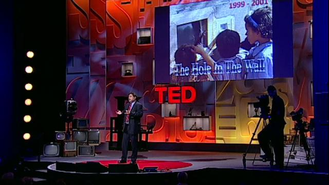 TED Talk Sugata Mitra - Child education
