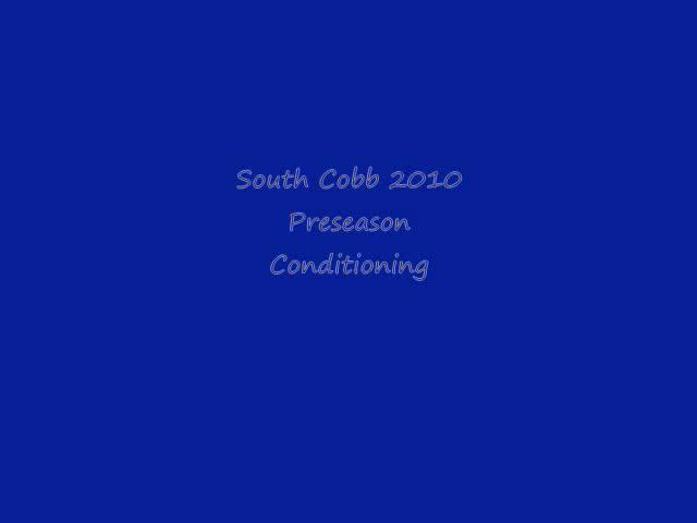 South Cobb Basketball Conditioning on Vimeo