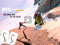 New line of Petzl Charlet ice tools - QUARK NOMIC ERGO