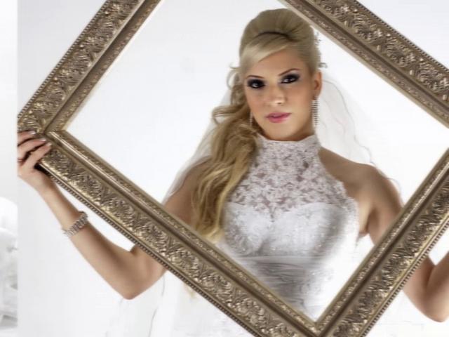 Novia de Monterrey en su sesión de fotos previa a la boda