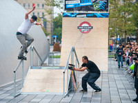 Last Sunday was scheduled for the Mind the gap 2010 tour finals in collaboration with World on Wheels in the city centre of Eindhoven. The course was setup on the Saturday during a beautiful day. Nothing could go wrong...  Unfortunately Sunday was...