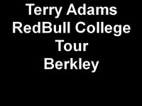 Terry Adams Redbull College Tour