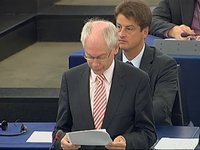 Statement at the EP on the outcome of the September European Council