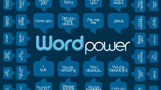 Word Power Bumper