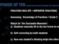 ADDING FRACTIONS - PLAYING FRACTION FACE-OFF (GR5+)