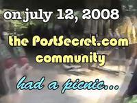 The First PostSecret Picnic