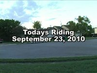 Today's Riding September 23, 2010