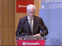 Speech at Sciences Po, Paris