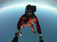 Freeflying with Nicole and Tony, Jump 152