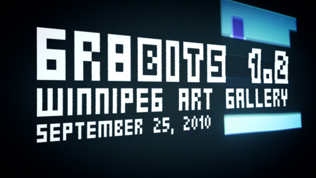 Gr8Bits Show @ the Winnipeg Art Gallery