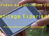 Heritage Experience | Journées du patrimoine | SMARTCITY 2010