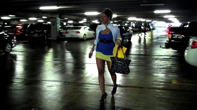 Sexy Upskirt Caught on Video Tape