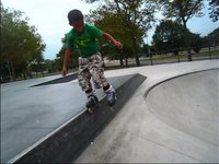 Young phenomenon Daymian Ruiz who is 8 years old and has been skating since he was two and aggressive skating for the last 9 months.....Enjoy