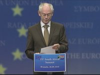 EU – South Africa summit, Press conference