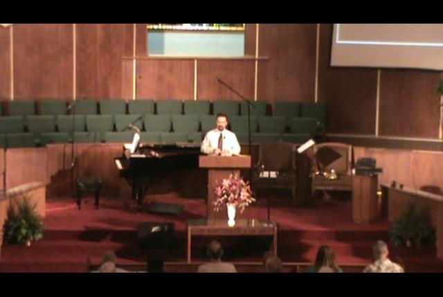 Still image of 9-26-2010 sermon