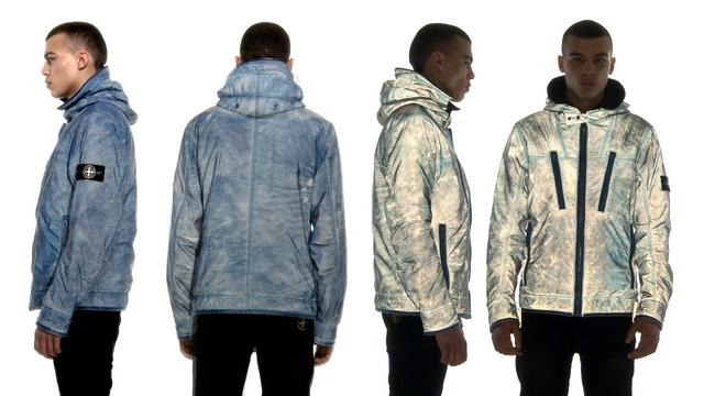 Video: Stone Island Liquid Reflective Jacket