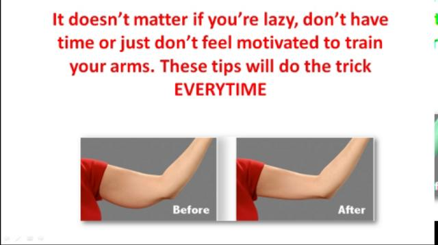 Women's Arm Secrets - How to Get Tight, Toned and Non ...