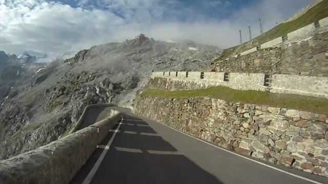 Stelvio Pass with Patrick Switzer, John Barnet, Ramon Konigshausen and Martin Siegrist