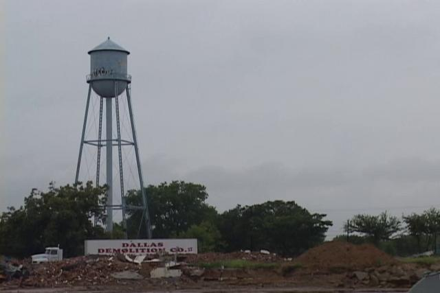 Trenton Water Tower Demolition : Demolition of water tower in waxahachie texas on vimeo
