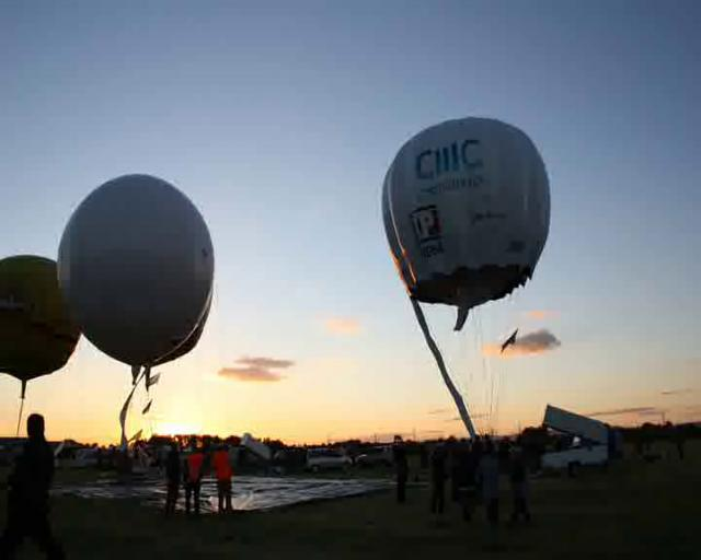 Gordon Bennett Gas Balloon Race Time Lapse