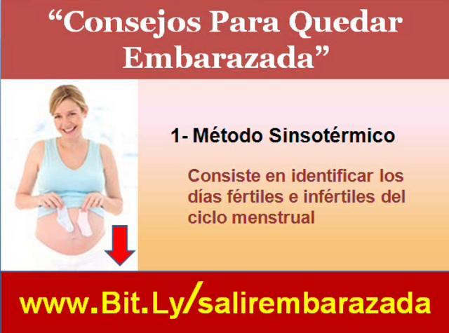 Consejos y secretos para saber como quedar embarazada