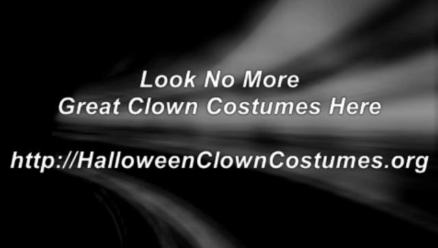 Halloween Clown Costumes on Vimeo Clown