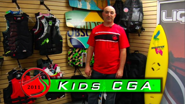 2011 Clinic DVD - Kids CGA Vest