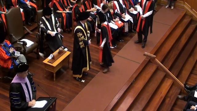 Sixteenth Ceremomy - The University of Adelaide