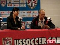 Konferencja prasowa przed meczem Polska-USA
