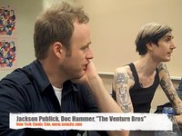 NYCC The Venture Bros Press Panel: Jackson Publick and Doc Hammer