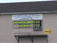Omagh 0-8 Carrickmore 0-8 - Closing Stages