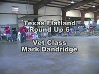 Texas Flatland Round Up 6 Vet Class Winner