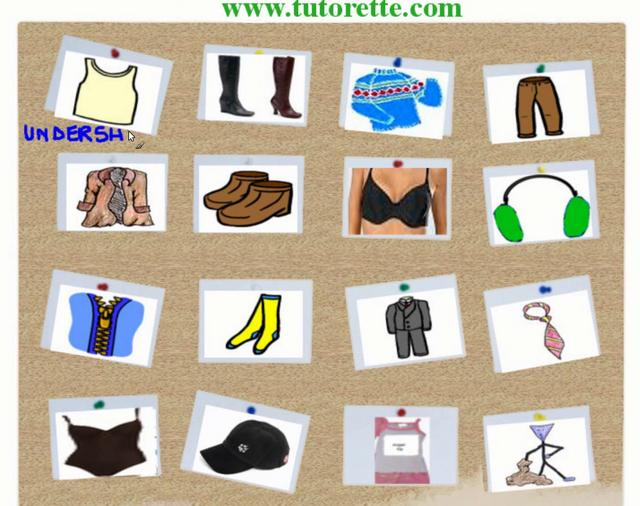 English-for-beginners-vocabulary-clothes-part2 on Vimeo
